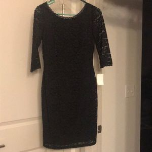 Black lace dress (with tags)